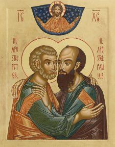 Peter og Paulus - Fra St. Johannes Døperen kirke i Oslo