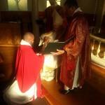 Fra ordinasjonshandlingen 7. juni 2014
