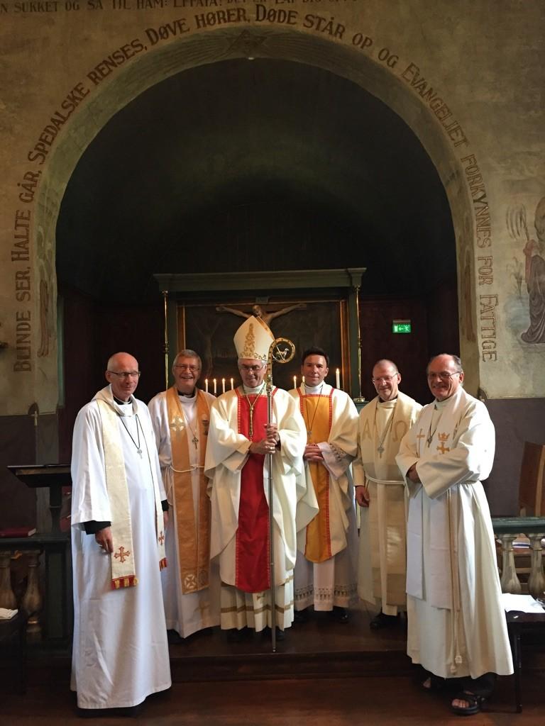 Fr. Bjørn Justins ordinasjon
