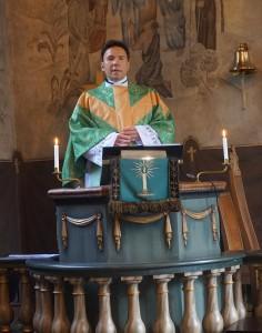 Fr. Bjørn Justins primiss preken