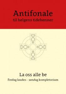 Antifonale for helgen - Forside